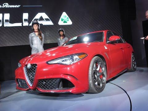 2017 Alfa Romeo Giulia Quadrifoglio - 2015 L.A. Auto Show