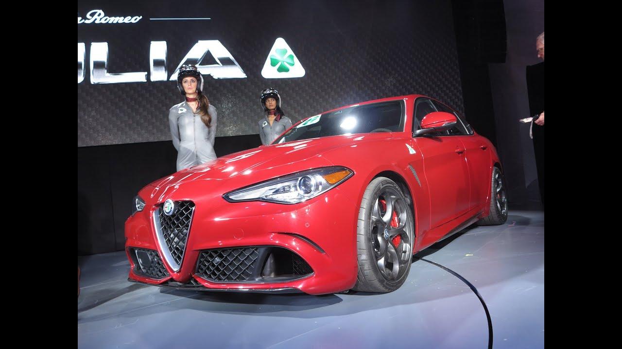 Alfa Romeo Giulia Quadrifoglio LA Auto Show YouTube - Auto show near me