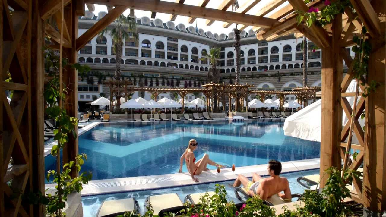 Crystal sunset luxury resort spa side antalya youtube