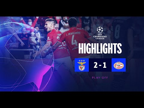 Benfica PSV Goals And Highlights