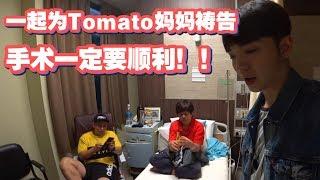 来一起为Tomato妈妈祷告 手术一定要顺利!【Daily Vlog13】