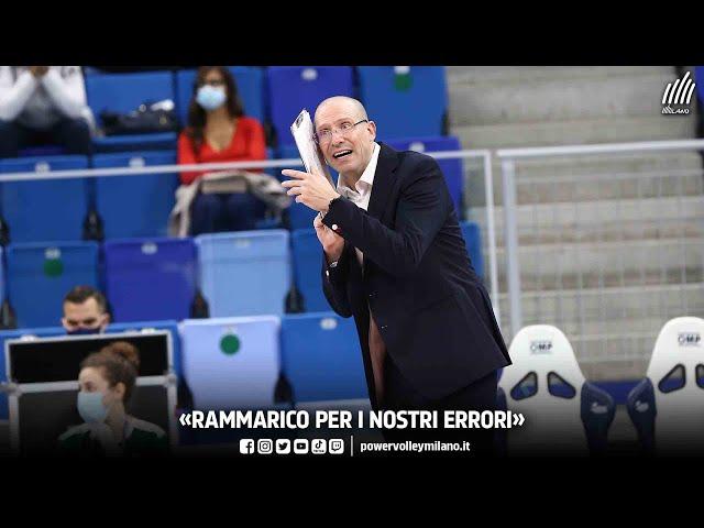 Superlega, intervista post Civitanova - Milano di Roberto Piazza
