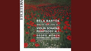 Rhapsody no 1 for violin and piano op 86 ; Part Part II Friss, allegretto moderato