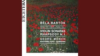 Rhapsody no 1 for violin and piano op 86 ; Part Part II Friss, allegretto moderato