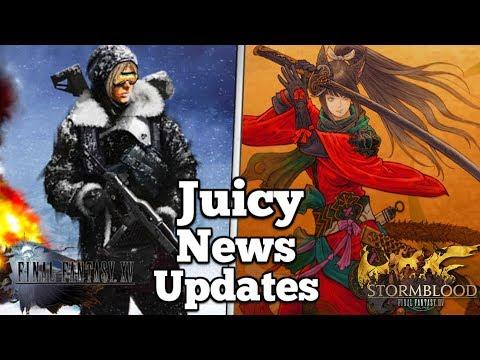 'Large Scale' updates ahead for Final Fantasy XV & XIV - Gamescom, DDOS attacks & DLC news