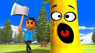 Wii Party Funny Minigames - Guest A vs Siobhán vs Nick vs Ai