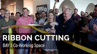 Ribbon Cutting: Bay 3