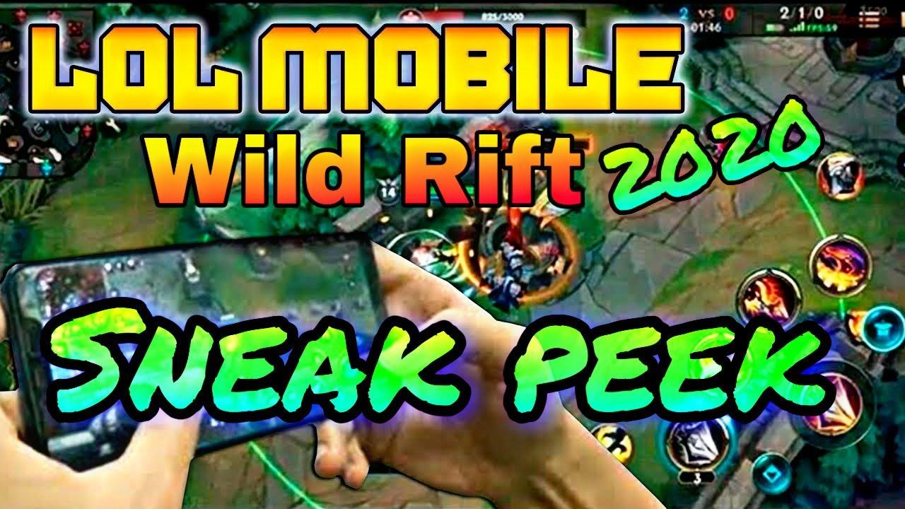 League of Legends Wild Rift Sneak Peek