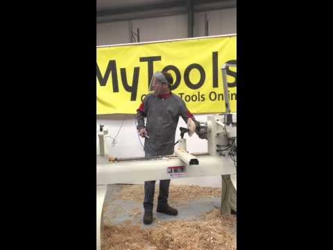 ... woodworking demo the Ronayne Woodworking Machinery Show - YouTube