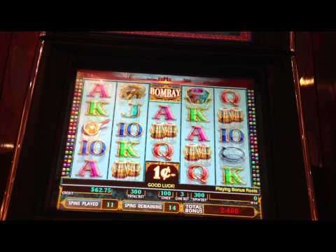 BOMBAY Slot Machine Bonus ($3.00 Bet) Parx Casino Bensalem PA