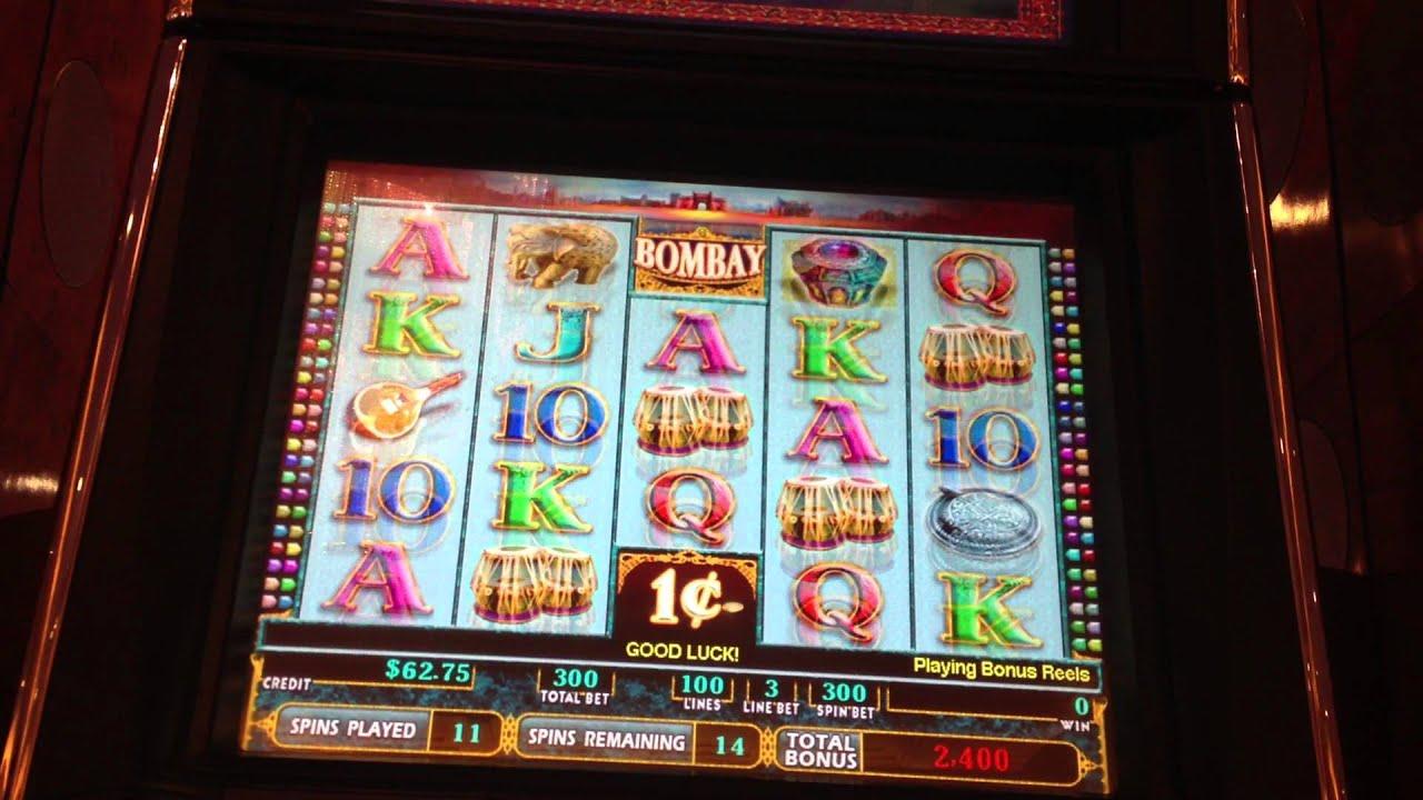 BOMBAY Slot Machine Bonus ($3 00 Bet) Parx Casino Bensalem PA
