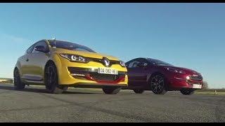 Drag Race : Peugeot RCZ R VS Renault Mégane RS Cup (Motorsport)