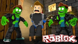 ROBLOX - SCUBA STEVE GETS TURNED INTO A ZOMBIE