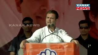 Rahul Gandhi Addresses a Public Rally at Kanpur