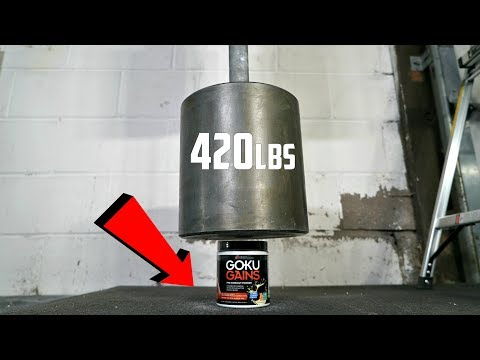 Download Youtube: World's HEAVIEST Dumbbell (420lbs) vs GOKU GAINS PRE-WORKOUT Test!