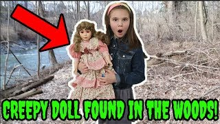 We Found A Creepy Doll In The Woods! The Doll Maker Was Watching! Lol Surprise Scavenger Hunt