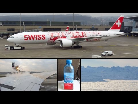 TRIP REPORT | SWISS Boeing 777-300ER | Zurich to Geneva | ECONOMY | Full Flight [Full HD]