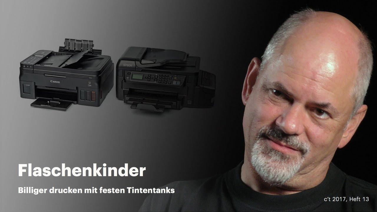 tintenstrahldrucker mit tank test