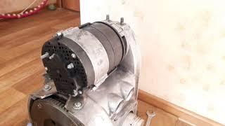 Установка генератора от МТЗ Г700, Г1000 на мотоцикл Урал, Днепр