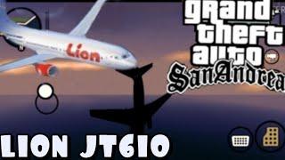 Pesawat Lion Air JT 610 jatuh || GTA SA
