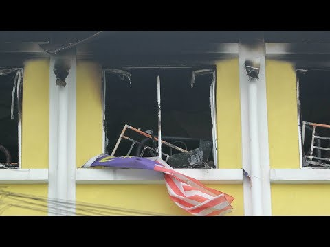 24 dead in religious school fire in Malaysia