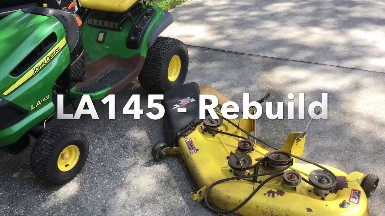 La145 Belt Diagram Archive Of Automotive Wiring John Deere La165 Rebuild Youtube Rh Com Mower
