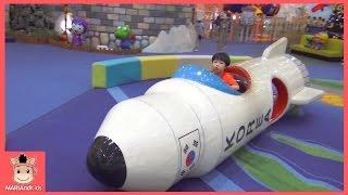 뽀로로 키즈 카페  기차 자동차 어린이 놀이 시간 테마파크 ♡ 어린이 장난감 놀이기구 Indoor Playground Fun Play | 말이야와아이들 MariAndKids