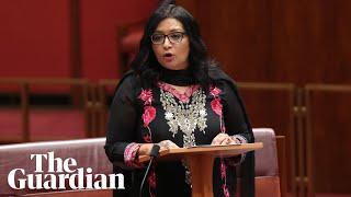 Australia's first female Muslim senator makes maiden speech: \'I\'m not going anywhere\'