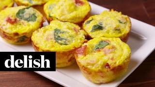 Cauliflower Breakfast Muffins | Delish