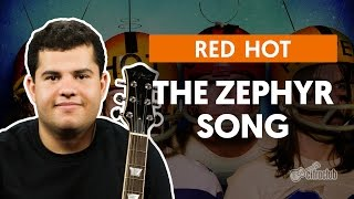 The Zephyr Song - Red Hot Chili Peppers (aula de guitarra)