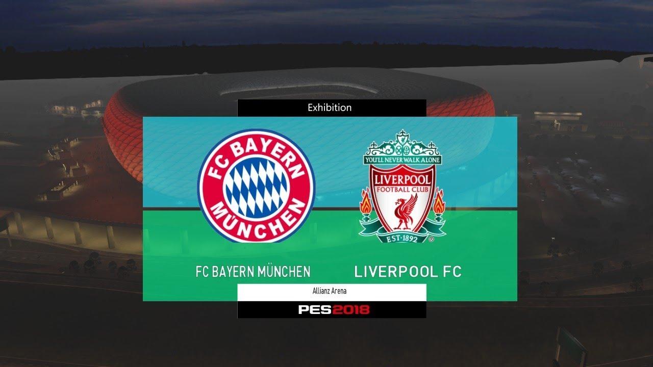 Bayern Munchen Vs Liverpool Audi Cup 2017 Gameplay Youtube