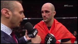 Fight Night Stockholm: Volkan Oezdemir Octagon Interview