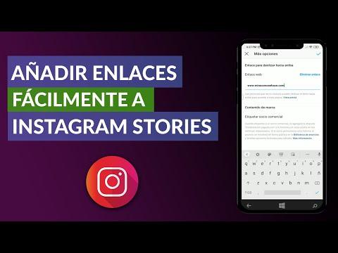 Cómo Añadir Fácilmente Enlaces a Instagram - Instagram Stories
