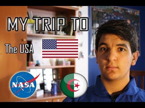 My US Trip :  NASA & Washington ( Race to space 2016 )