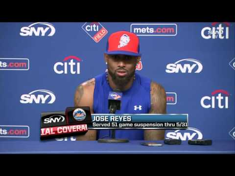 Jose Reyes makes his Mets return at Citi Field