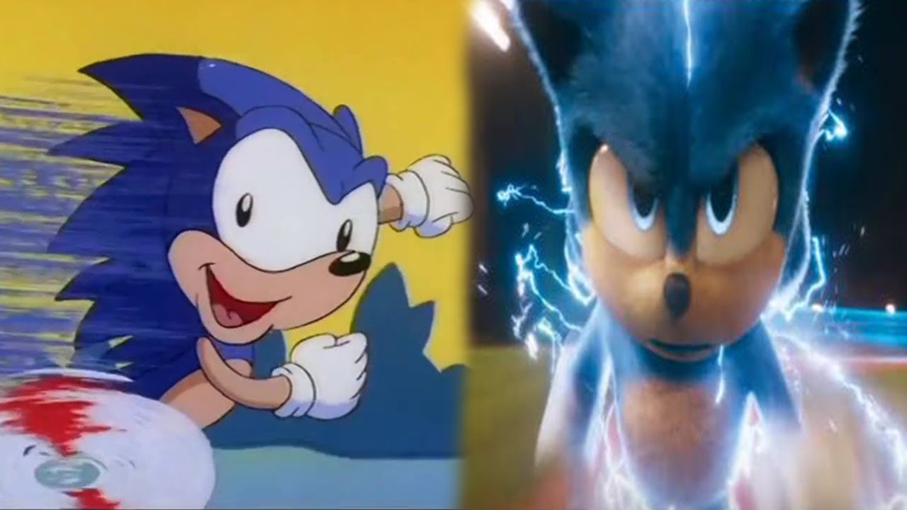 Evolution of Sonic The Hedgehog in Movies, Cartoons & TV (1993-2020)