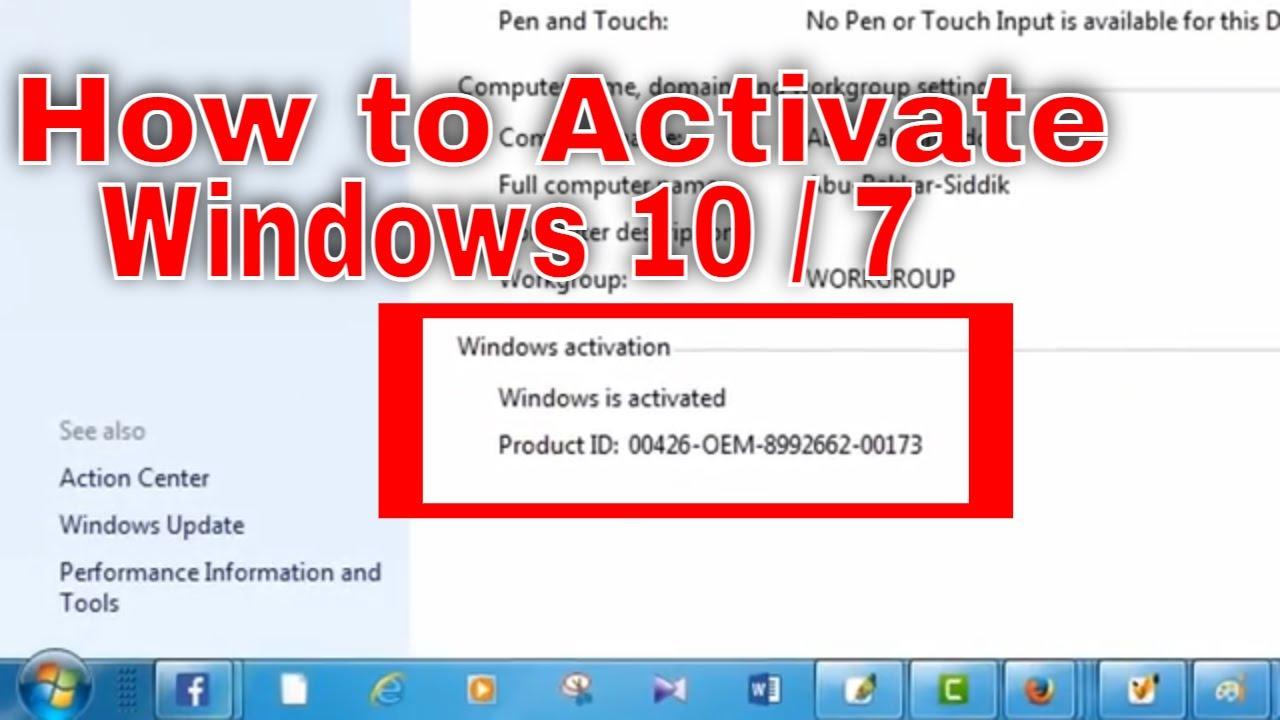 how to fix windows genuine problem windows 7
