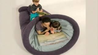 Grande Ideia – Almofada gigante vira cama, colchão, poltrona e sofá