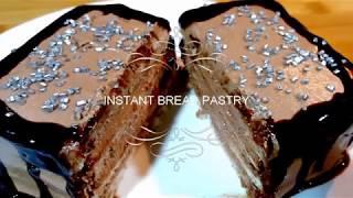 Instant Bread Pastry Recipe - Quick & Delicious pastry recipe