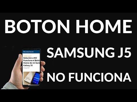Samsung Galaxy J5 - NO Funciona el Botón Home (SOLUCIÓN)