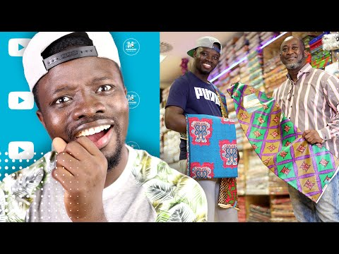 The Biggest Ghanaian Owned African Textiles Shop in Essen Germany
