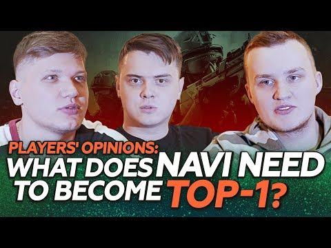 Players' opinions: What does NAVI need to become TOP-1?