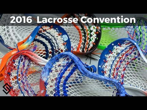 2016 US Lacrosse Convention Sticks - Custom Lacrosse Sticks from Stylin Strings