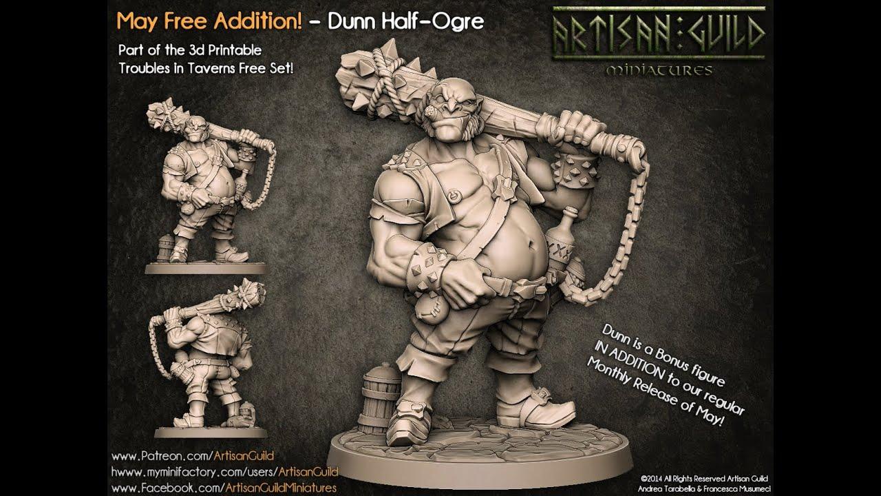 Artisan Guild Patreon - Dunn Half Ogre Making Of