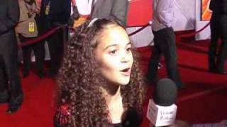 INTERVIEW with Madison Pettis at the Bolt Premiere