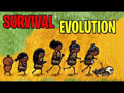 SURVIVAL EVOLUTION! MAX LEVEL EVOLUTION OneHourOneLife! HUMAN SURVIVAL & CRAFTING!