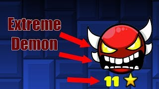 HOW TO BUILD AN EXTREME DEMON (Geometry Dash)