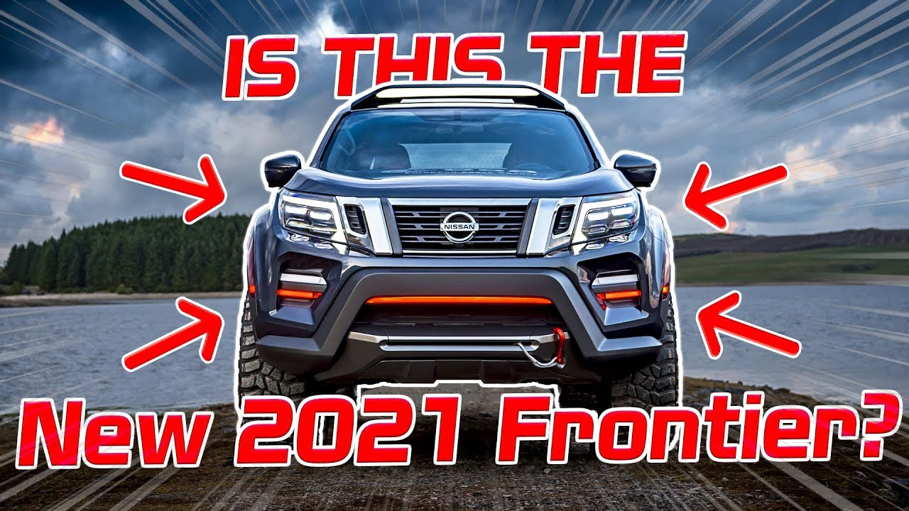 Is this the NEW 2021 Nissan Frontier? Future Concept Truck ...
