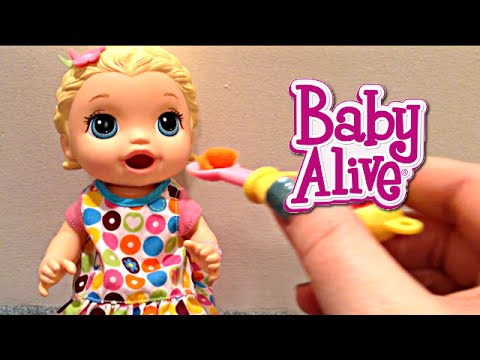 Baby Alive Super Snackin Lily Doll Eats Lalaloopsy Food