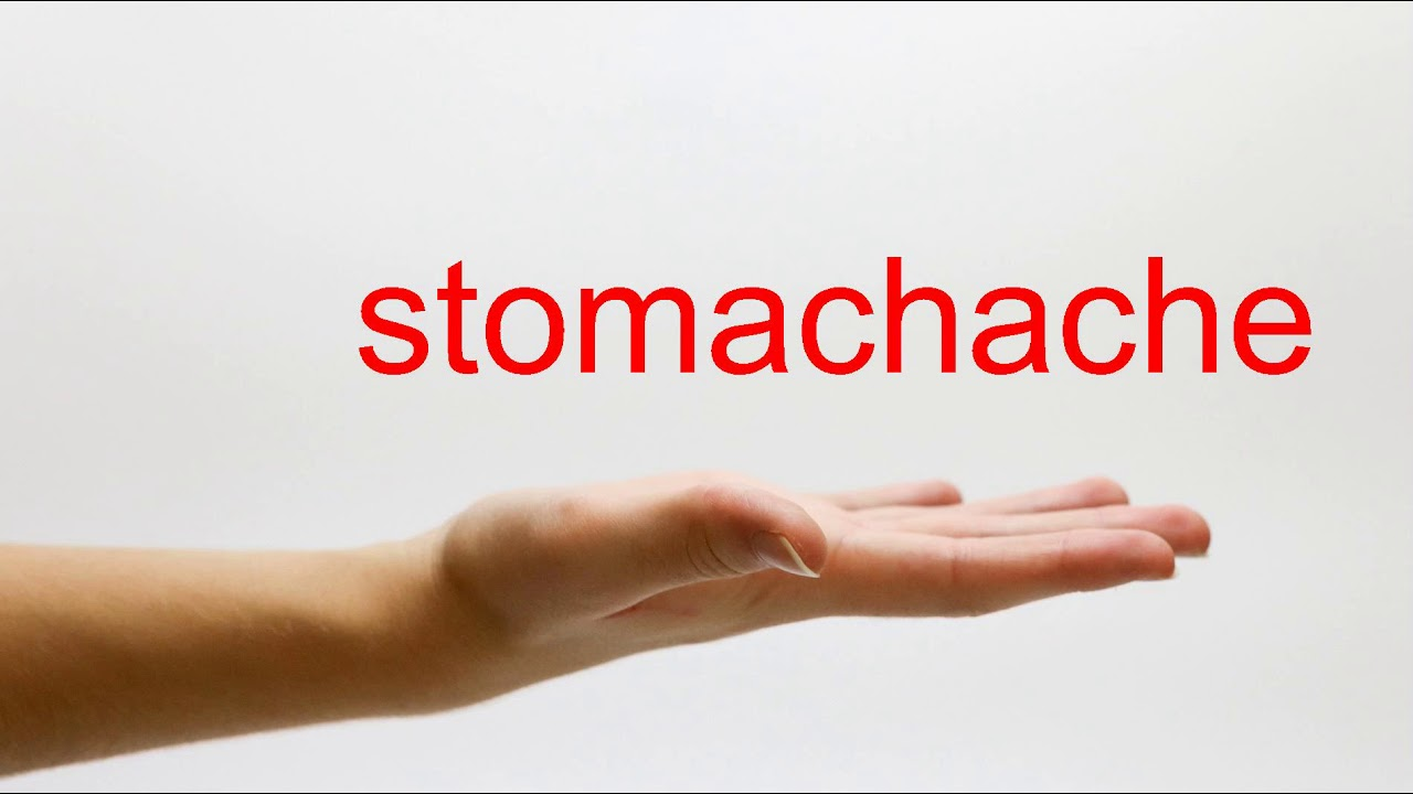 How to Pronounce stomachache - American English